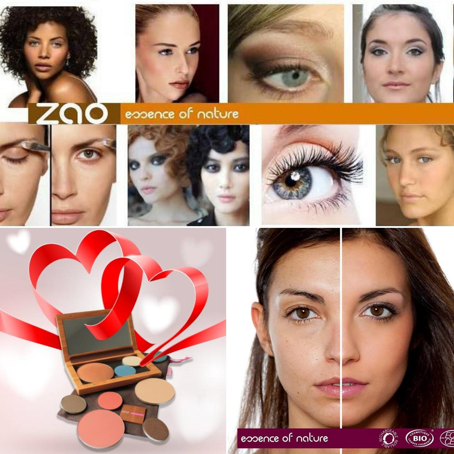 Maquillage naturel Zao Vannes