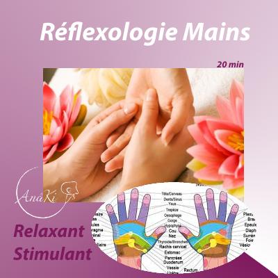 Réflexologie Mains