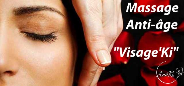 Massage anti-âge relaxant du visage