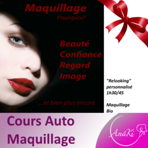 Offrir cours maquillage relooking