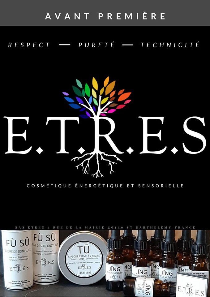 Cosmétiques E.T.R.E.S bio breton